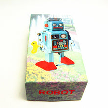 Load image into Gallery viewer, RadioCon Bot - Vintage Tin Toy Robot