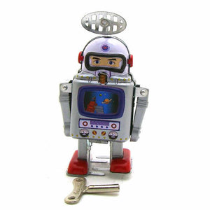 Spaceman Bot - Vintage Tin Toy Robot