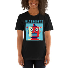 Load image into Gallery viewer, Ultrobots Retro Bot Short-Sleeve Unisex T-Shirt