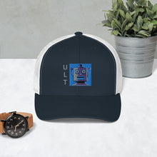 Load image into Gallery viewer, ULT Retro Robot Trucker Cap