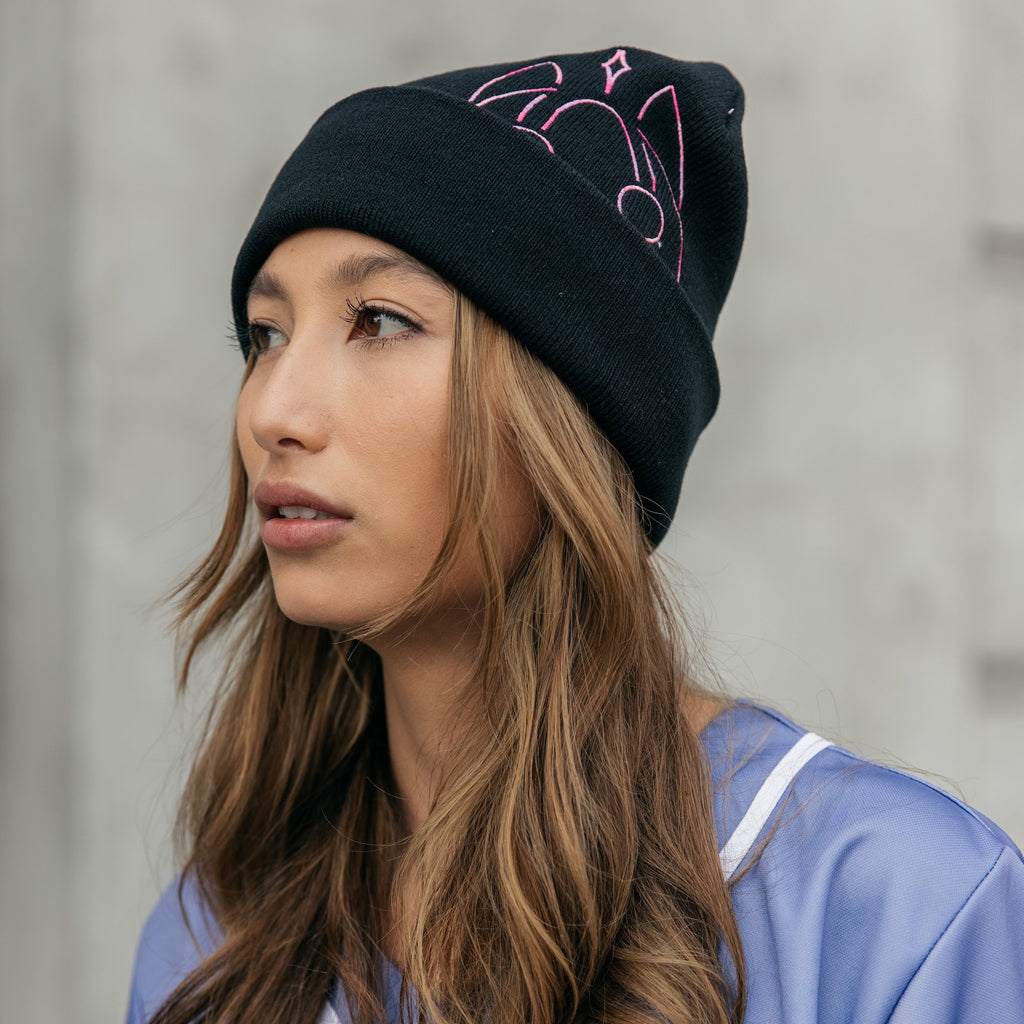 Dabin - Embroidered Gradient Mask Beanie (Limited Edition)