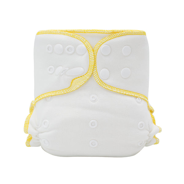 Mumsbest-Bamboo cotton Fitted cloth diaper with insert