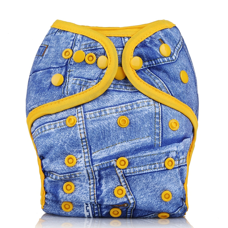 Mumsbest Cloth Diaper Cover Reusable Washable One Size Waterproof For Baby Boys And Girls