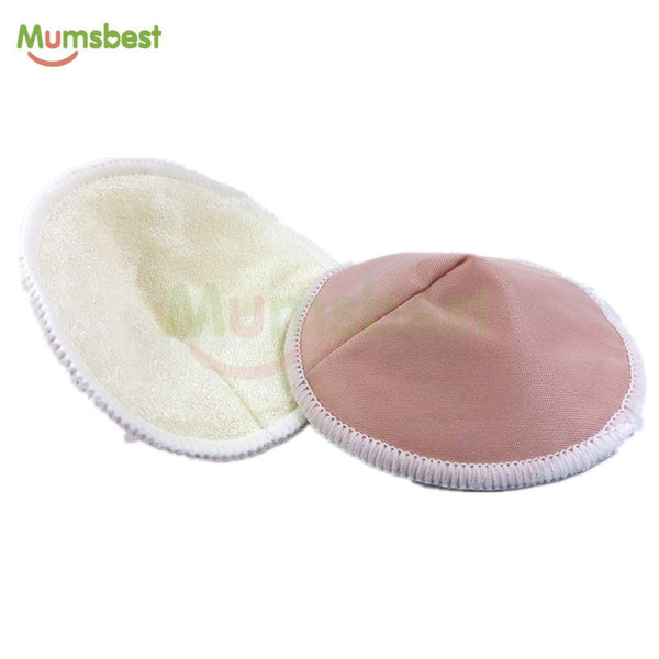 14 PCS Reusable Bamboo Breast Pads Organic Washable Nursing Pads