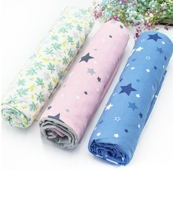 Mumsbest Print Fleece Blanket For Adult and baby