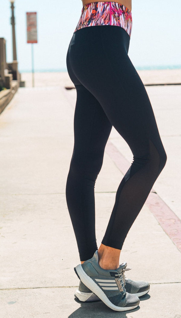 Colorful Sahara Yoga Leggings