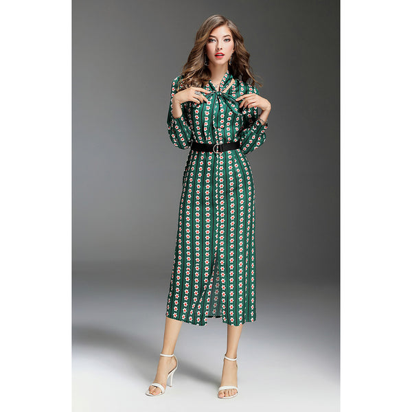 Women's Going out Street chic Slim Swing Dress