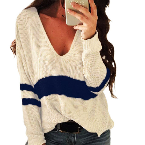 Women's Weekend Solid Colored Long Sleeve Regular Pullover
