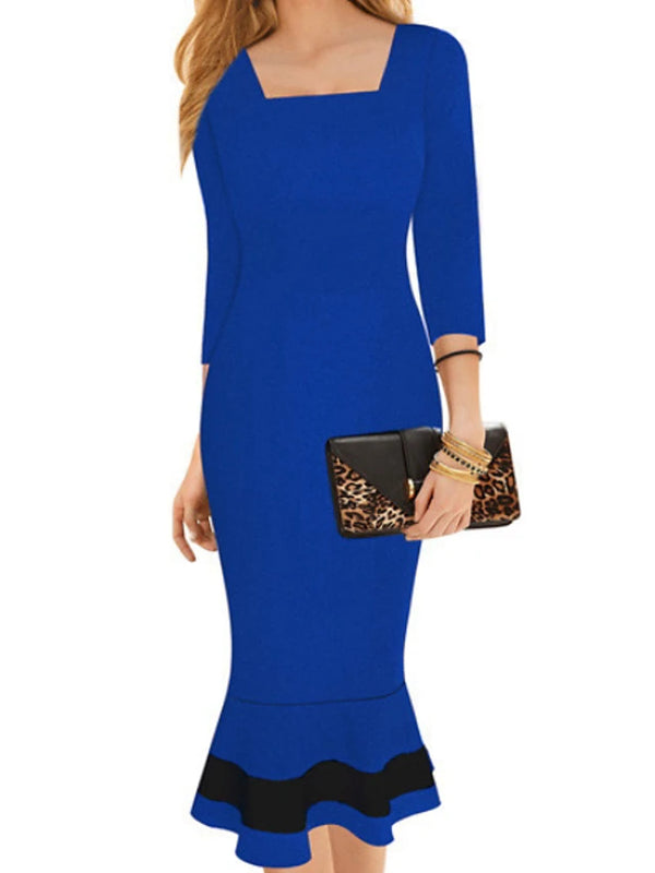 Women's Party Going out Basic Slim A Line Dress