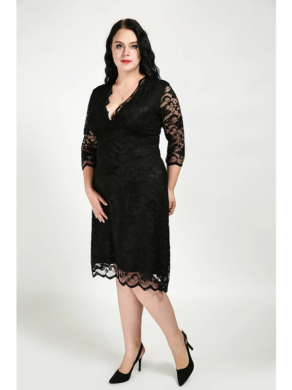 Women's Plus Size Daily Sheath Dress