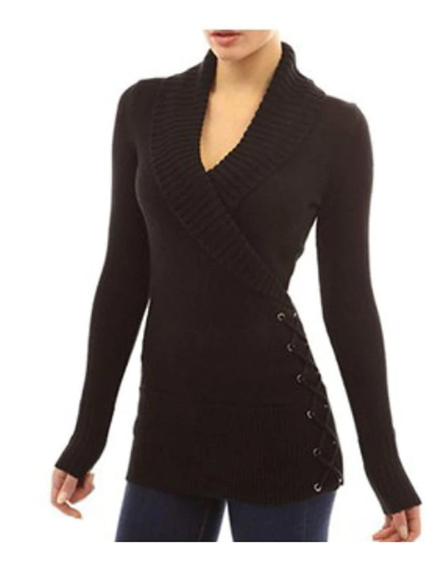 Women's Daily Basic Solid Colored Long Sleeve Loose Regular Pullover