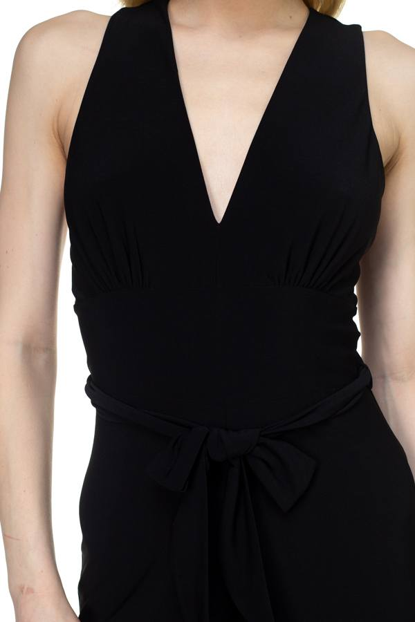 Strapless Belted Jumpsuit