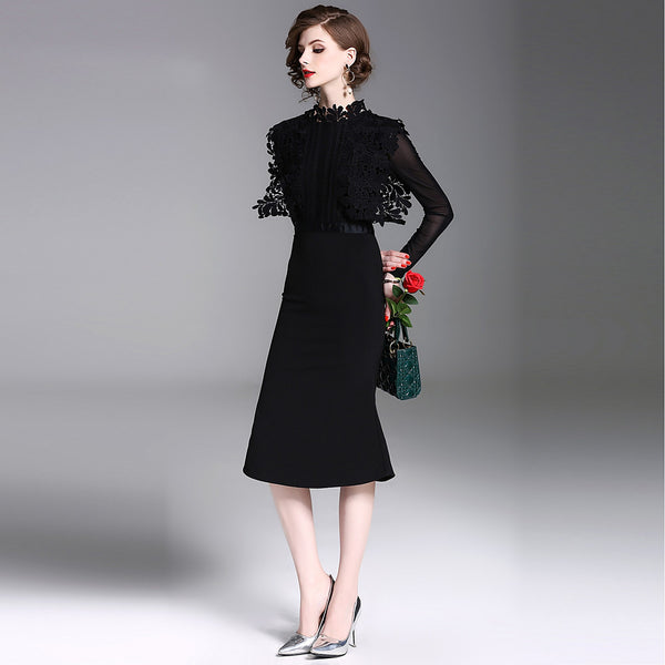 Women's Party / Work Street chic / Sophisticated Sheath Dress