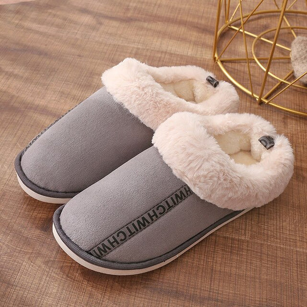 Women House Slippers Plush Winter Warm Shoes Memory Foam Home Slippers Indoor Outdoor