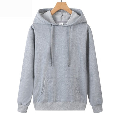 Suzhan Autumn Sweatshirts Women Hood Hoodies Long Sleeve Solid Casual Hooded Pullover Clothes Sweatshirt Women Tops