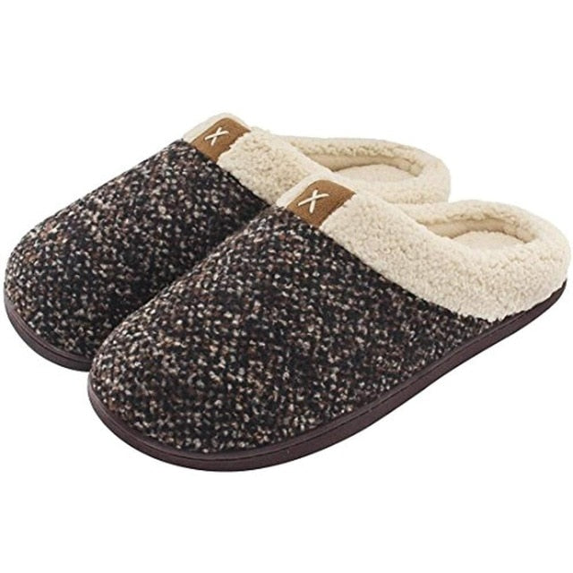 Warm Slippers for women Memory Foam Antiskid Soft Indoor women slippers