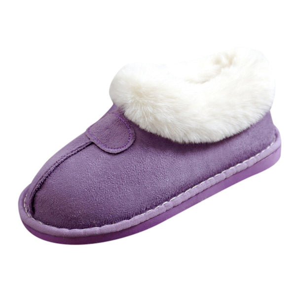 Women House Slippers Plush Winter Warm Shoes  Indoor  Home Slippers Memory Foam Slippers
