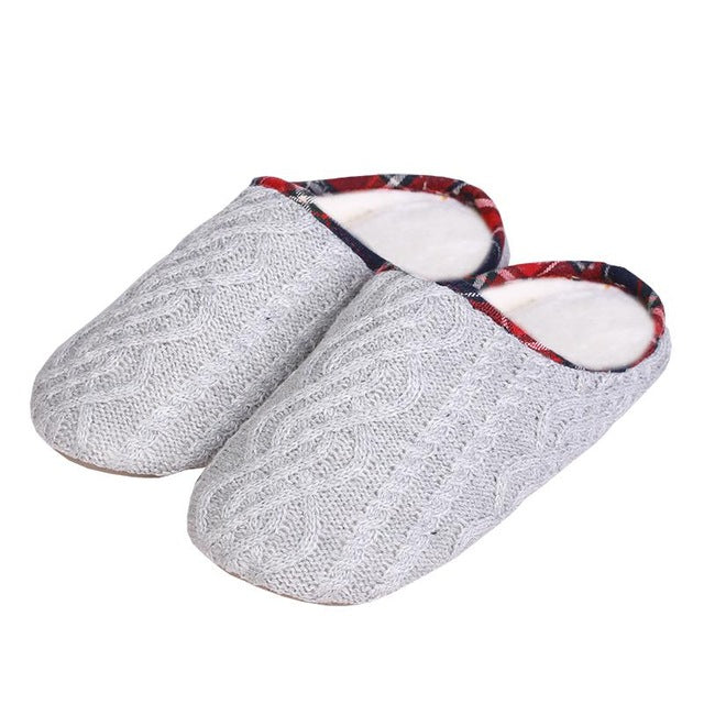 House Slippers Indoor Outdoor Shoes  Women Home Slippers Memory Foam Warm