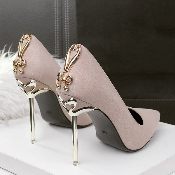 High Heels Women Shoes Pumps Stiletto Sexy Wedding Shoes
