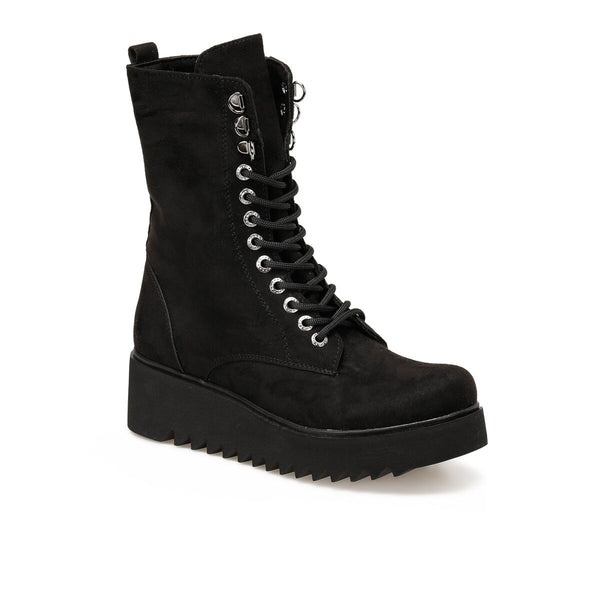 FLO 19SF-2026 Black Women Boots BUTIGO