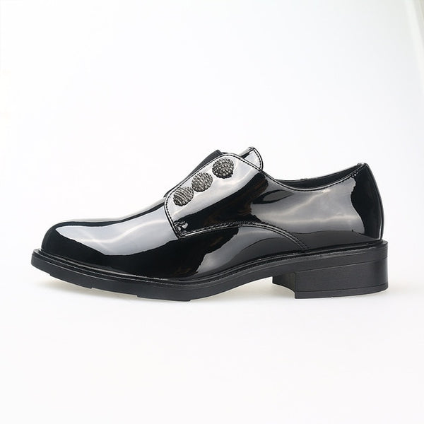 Patent leather Loafers Casual Shoes Classic  Flats Oxford shoes  Offices Dress Shoes