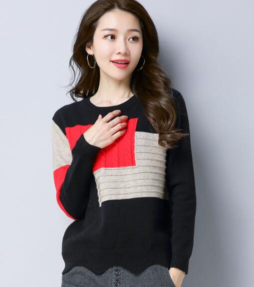 Winter woman sweater knitting pullovers female Korean style