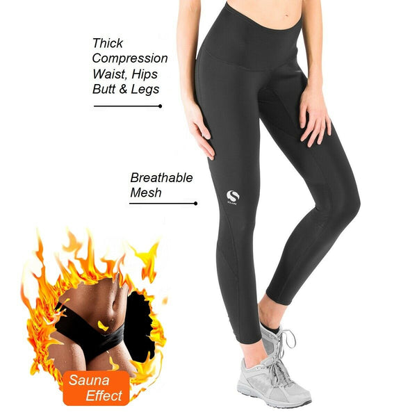 Solaire Workout Leggings For Women Sport Gym Black High Waisted Athletic Pants