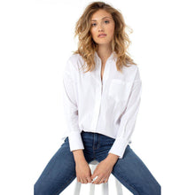 Load image into Gallery viewer, OVERSIZED CLASSIC BUTTON DOWN SHIRT, Womens