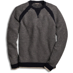 STRAHLHORN CREW SWEATER, MENS