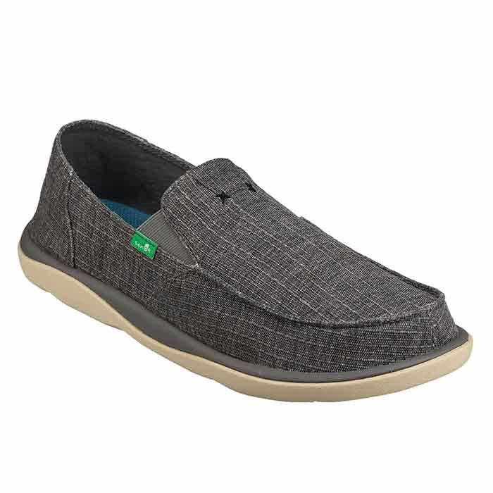 SANUK VAGABOND TRIPPER GRAIN SLUB LOAFER