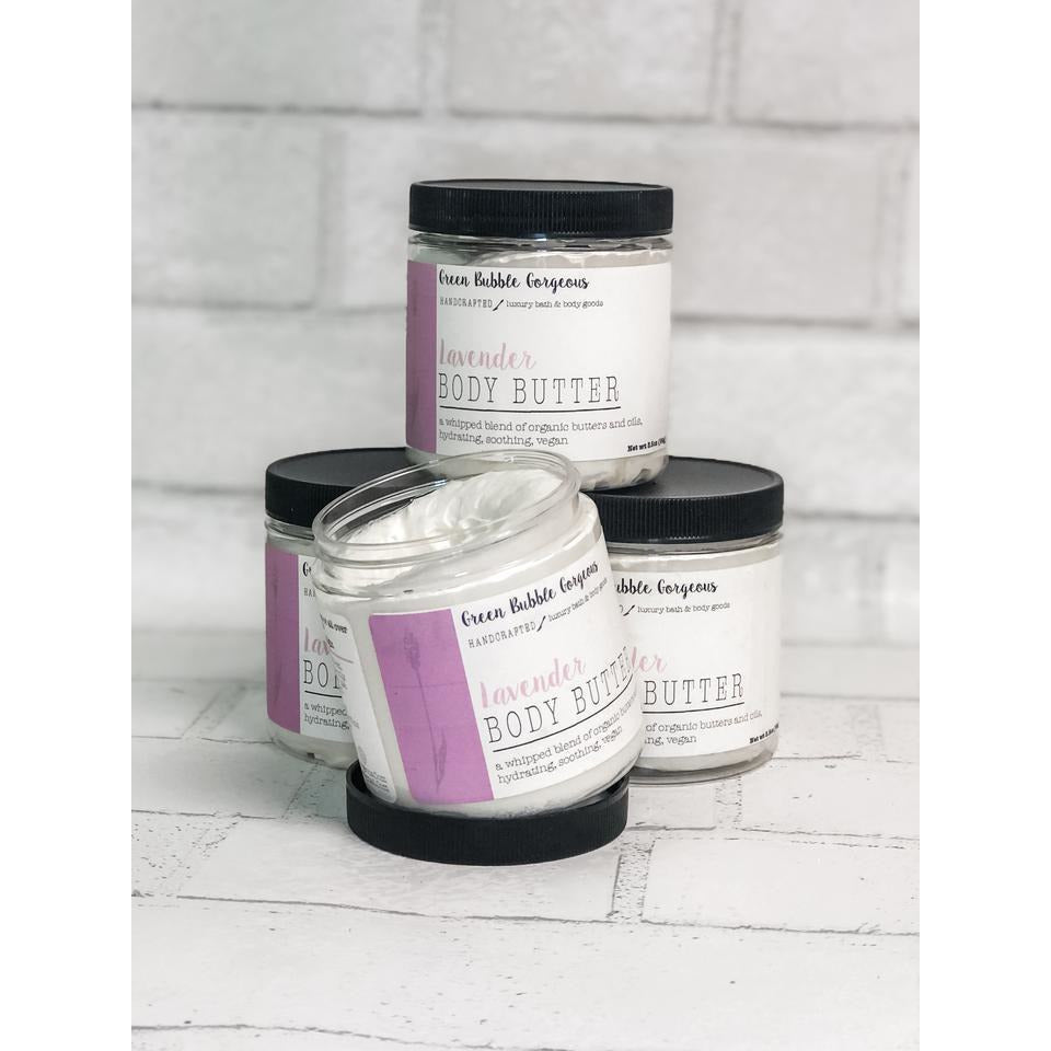 WHIPPED SHEA BODY BUTTER- LAVENDER