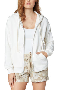 RELAXED FIT ZIP UP HOODIE