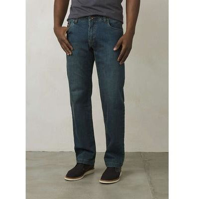 PRANA AXIOM JEAN, MENS Antique Stone Washed