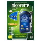 Nicorette Fruitdrops 4mg Nicotine Fruit Extra Strength 20 Pack