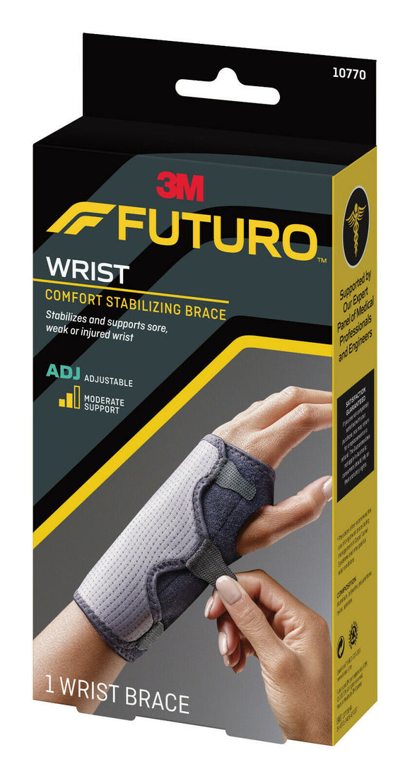3M FUTURO Comfort Stabilizing Reversible Splint Wrist Brace Adjustable Support