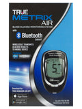 True Metrix Air & 100 x Blood Glucose Test Strips Monitoring System Bluetooth