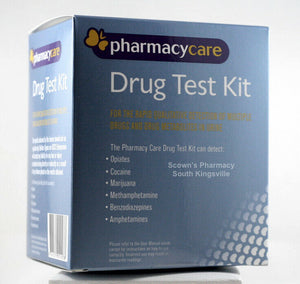 Pharmacy Care Drug Test Kit Rapid Urine Screening for THC MDMA METH COC & More