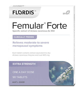 Flordis Femular Forte 90 Tablets Relieve Symptoms of Menopause