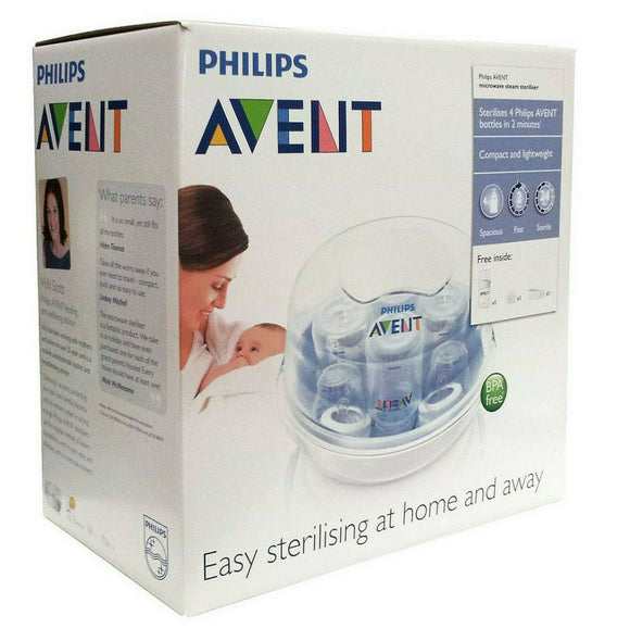 Philips Avent Express Microwave Steam Steriliser - Quick, Leightweight, Easy