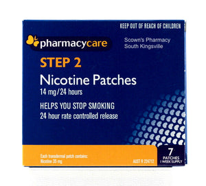 Pharmacy Care Nicotine Patches 14mg 24 Hours Step 2