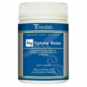 MEDLAB Mg OPTIMA RELAX Lemon Lime 300G Relaxation During Stress
