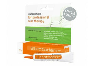 Strataderm Silicone Scar Therapy Gel 20g Soften & flatten Scars Reduces Itching
