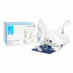 Allersearch Econ-O-Mist Forte Nebuliser Therapy System with Kids & Adults Mask