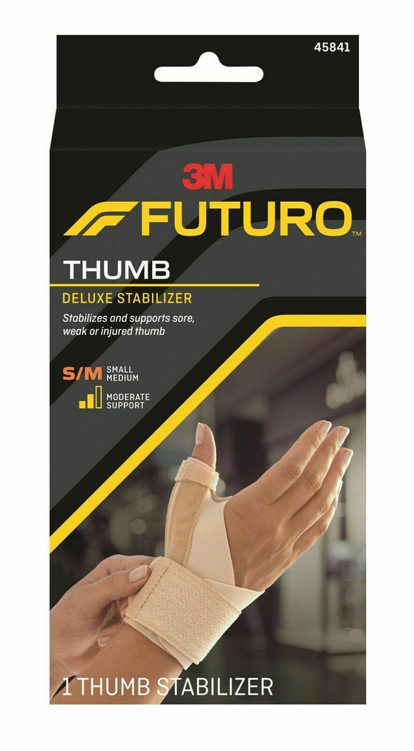 Futuro Thumb Deluxe Stabiliser Relieve Joint Pain All Sizes S-XL