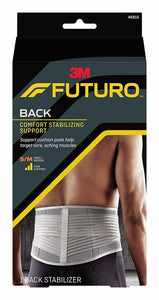 Futuro Stabilizing Back Support Lumbar Region Breathable S-XL