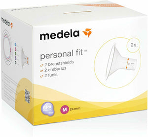 Medela Personal Fit Breast Shield Optimise the Milk Flow - Pack of 2 - Size M