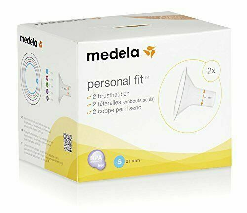 Medela Personal Fit Breast Shield Optimise the Milk Flow - Pack of 2 - Size S