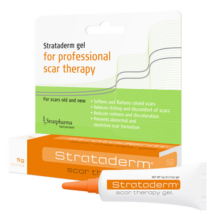 Strataderm Silicone Scar Therapy Gel 5g Soften & Flatten Scars Reduces Itching