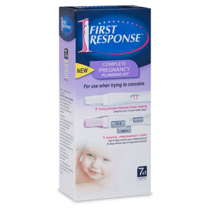 First Response Complete Pregnancy Planning Kit  7 x Ovulation & 1 x Pregnancy Test