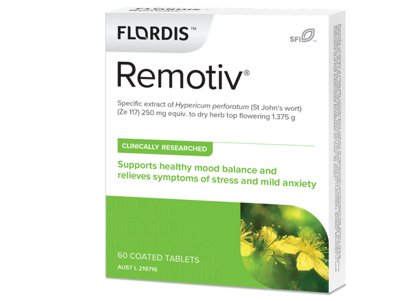 Flordis Remotiv Supports Healthy Mood & Relieve from Stress & Mild Anxiety